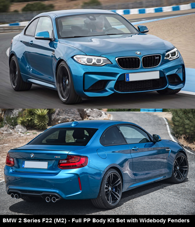 BMW 2 Series F22 M2 Body Kit