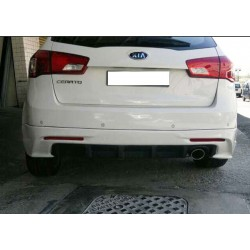 Kia Forte Hatchback 2012 Rear Skirt