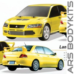 Mitsubishi Lancer 2001 EVO 7 Conversion Body Kit