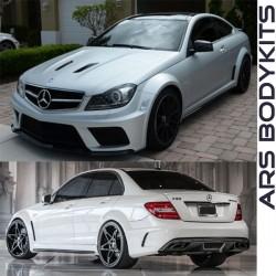 Mercedes Benz W204 Prior Design Black Edition Wide Body Version Bodykit