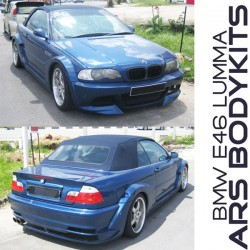 BMW 3 Series E46 Lumma style Body Kit