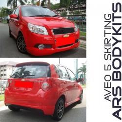 Chevrolet Aveo 5 Hatchback ARS Skirting