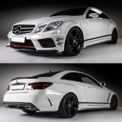 Mercedes Benz E-Class W207 Prior Design Black Edition Wide Body Kit