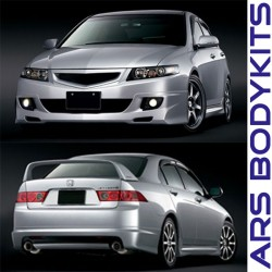 Honda Accord Euro-R 2006 Mugen Skirting, Front Grill & Rear Spoiler