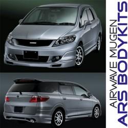 Honda Airwave 2005 Mugen Skirting, Front Grill & Spoiler