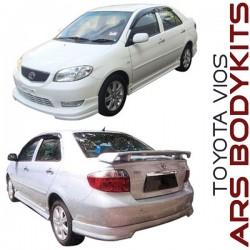 Toyota Vios '03 & '06 TD Style Body Kit