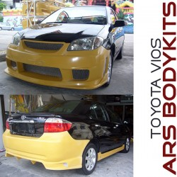 Toyota Vios '06 IN-A Style Body Kit