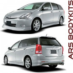 Toyota Wish '06 ML-A Style Skirting