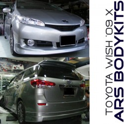 Toyota Wish '09 X Spec ML-A Style Body Kit