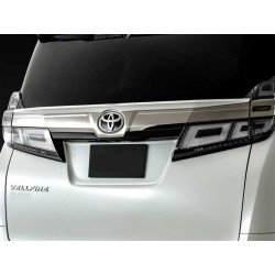 Toyota Vellfire 2019 Admiration style Tailgate Spoiler
