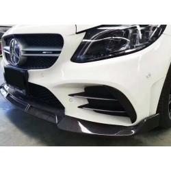Mercedes Benz W205 Facelift Front Skirt