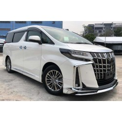 Toyota Alphard '15 Conversion to Type S '18 with Modellista style Body Kits