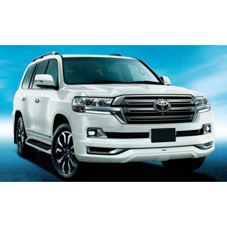 Toyota Land Cruiser LC200 '16 Facelift Conversion with Modellista style Body Kits