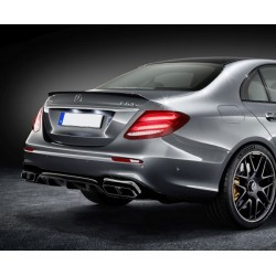 Mercedes Benz W213 AMG E63 Style Rear Diffuser with Tailpipes