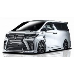 Toyota Alphard '18 Rowen style Front Bumper