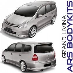 Nissan Grand Livina '09 Impul style Body Kit