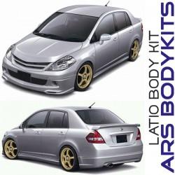 Nissan Latio Sedan 4/Doors '06 Impul style Body Kit