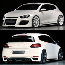 Volkswagen Scirocco Rieger style Body Kit