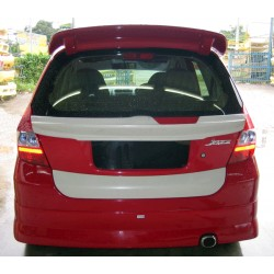 Honda Jazz Fit 2005 VL Spoiler & Boot Lip